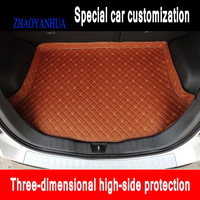 ZHAOYANHUA Custom fit Car Trunk mats for BMW 1 series E81 E82 E87 E88 F20 F21 F52 116i 118i 120i 125i 118 car styling carpet