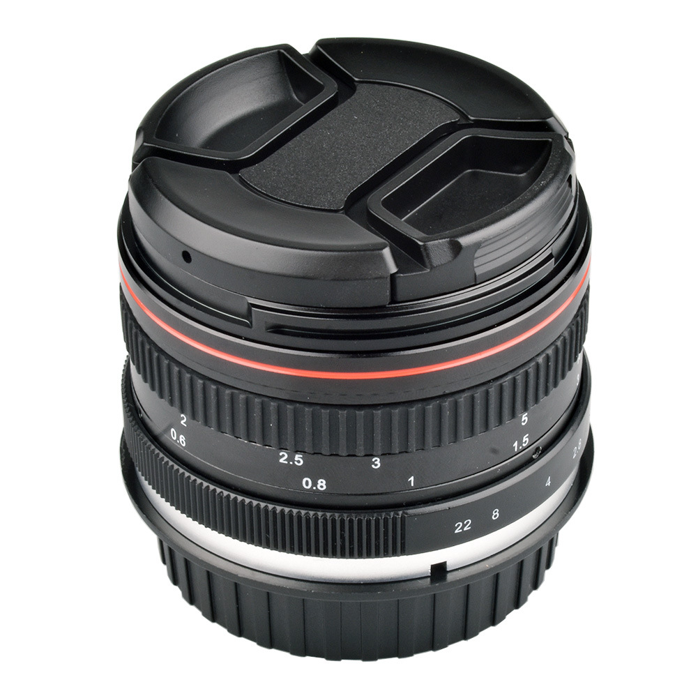Camera Lens EF 50mm F / 1.4 USM Large Aperture Standard Anthropomorphic Focus Lens for Canon