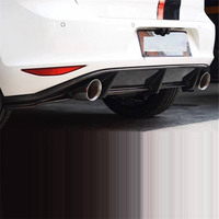 Decoration Exterior Styling Mouldings Parts Rear Diffuser Front Lip Tuning Car Bumpers 14 15 16 17 FOR Volkswagen Golf 7