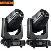 2pcs/lot LED SPOT Moving Head 300W LED SPOT Moving Head 300W Led Spot Moving Head with Zoom DMX 512 Stage Light dj lights