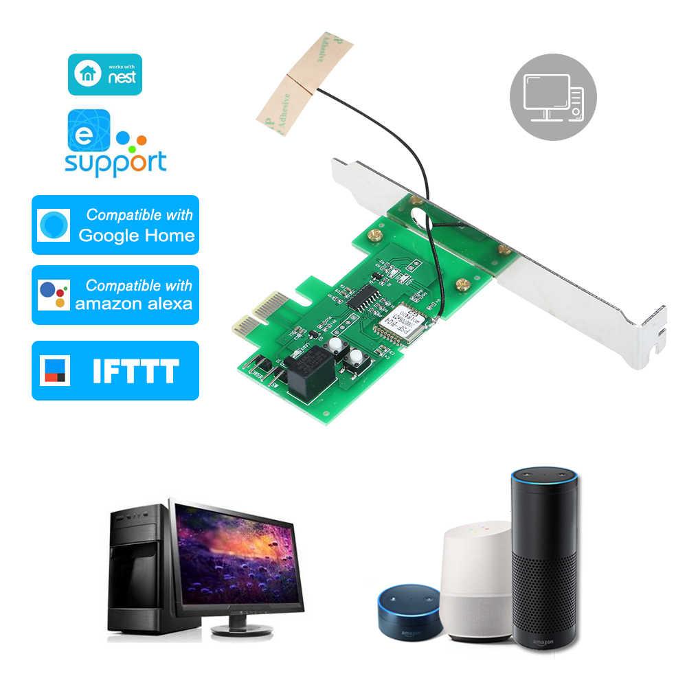 eWeLink Mini PCI e Desktop PC Remote Control Switch Card