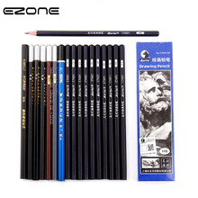 EZONE B/2B/38/4B/5B/6B/7B/8B/10B/12B/14B Pencil Different Size Sketch Pencil For Art Painting Graffiti Students Stationery