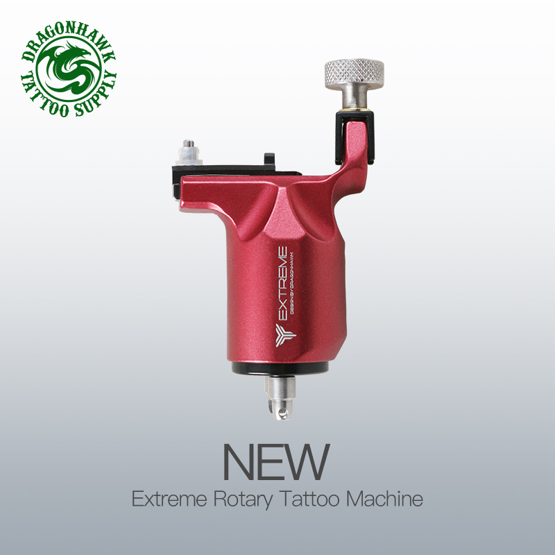 Rotary Tattoo Machine Adjustable Gun Strong Motor for 8000r m Powerful Stroke Direct Drive RCA Cord