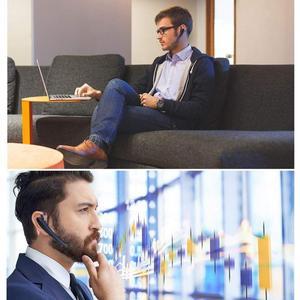 Image 5 - Portátil Fones De Ouvido Sem Fio fones de Ouvido Bluetooth Estéreo Hd Sons Dispositivos Ao Redor Com Microfone Ruído Decibéis Chamadas Hands free