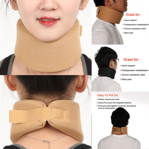 2019 New Fashion Women Men Cervical Collar Neck Relief Traction Brace Support Stretcher Comfort
