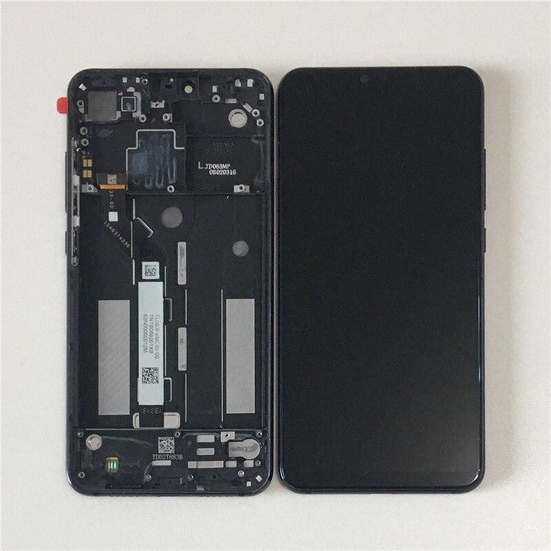 Оригинальный M & Sen для Xiaomi mi 6,26 8 Lite ЖК-экран с рамкой + сенсорная панель дигитайзер Рамка для mi 8 Lite mi 8X ЖК-рамка