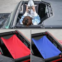For JL JK JEEP Multifunctional Soft Top Tent Hammock Roof Insulation Anti UV Net Roof Rack Car Accessories