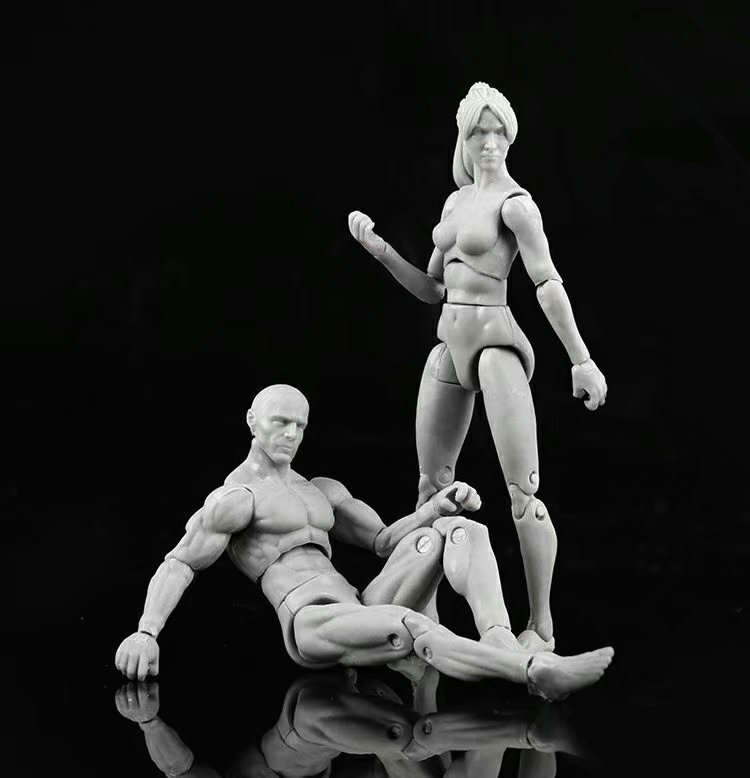 Toy Action-Figure Shfiguarts Collectible-Model Bodykun PVC Diy-Tool Painting Ver. 11CM
