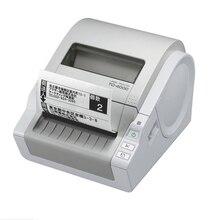 Etiket Makinesi TD 4000 Termal Bilgisayar Etiket Yazıcı Taşınabilir Kendinden yapışkanlı Etiket Bar kod yazıcı