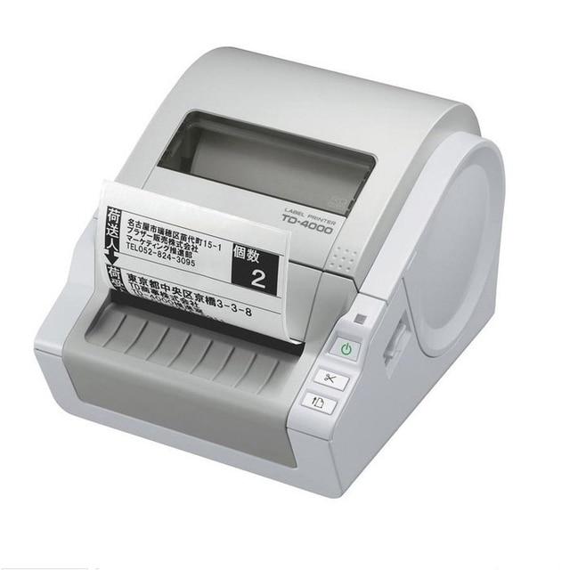 Машина для нанесения этикеток, TD 4000, термопринтер для этикеток, портативный самоклеящийся принтер для этикеток, штрих код