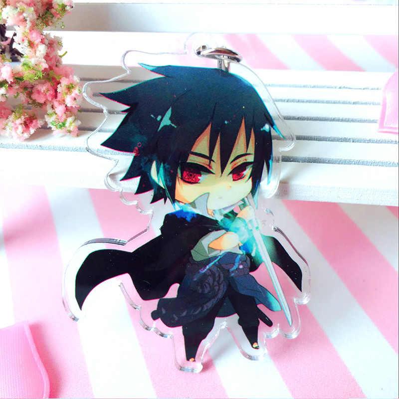 Nóng Anime Naruto Móc Chìa Khóa Giá Đỡ Thời Trang Nhật Bản Hoạt Hình Hokage Ninjia Uchiha Sasuke Uchiha Itachi Móc Khóa Keyrings Trang Sức