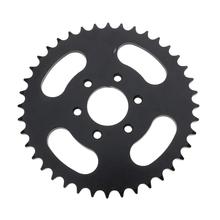 40 Tooth 37mm Rear Sprocket Mini Moto ATV Quad Dirt Pit Pocket Bike Cross 110cc 125cc 140cc 250cc Parts Fit 428 Chain gas electric scooter brake disc 140mm 120mm for 47cc 49cc 2 stroke pocket bike mini dirt bike atv quad mini motorcycle