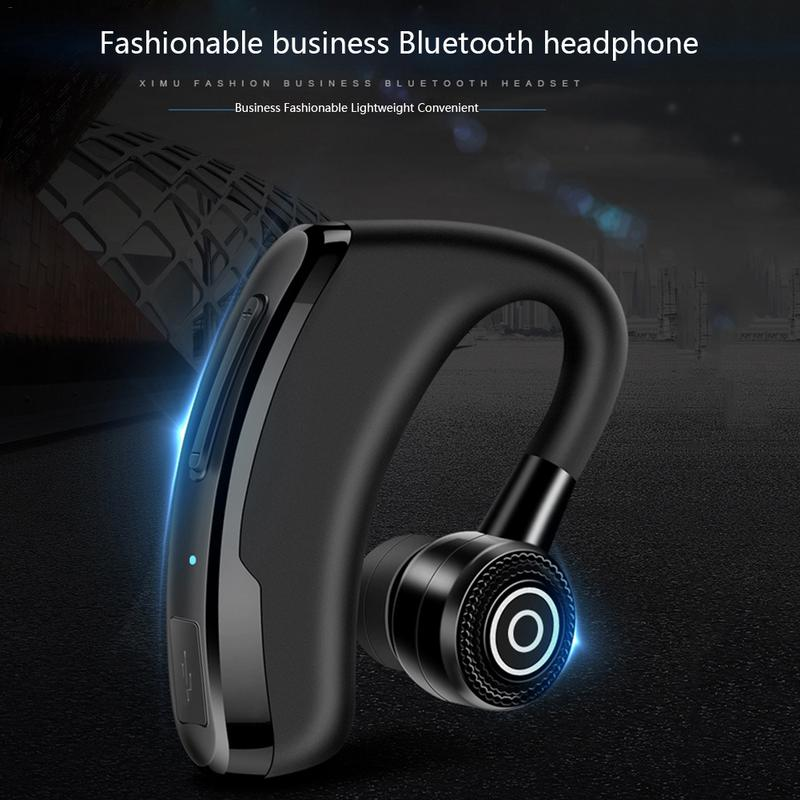 Image 5 - Business Ear hook Type Earphone Wireless CSR Bluetooth Earbuds Stereo Hd Sounds Music Surrounding Devices With Sound Control-in Bluetooth Earphones & Headphones from Consumer Electronics
