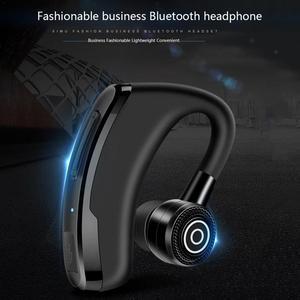 Image 5 - Business oorhaak Type Oortelefoon Draadloze MVO Bluetooth Oordopjes Stereo Hd Geluiden Muziek Omliggende Apparaten Met Geluid Controle