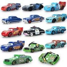 Disney Pixar Nes Cars track 3 Lightning McQueen Mater Jackson Storm Ramirez 1:55 Diecast Vehicle Metal Alloy Boy Kid Toys Hot