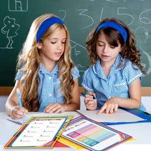 Image 3 - 30 разноцветных сухих стирающихся карманов, большие 10X13 карманов, идеально подходит для организации в классе, многоразовые карманы для стирания
