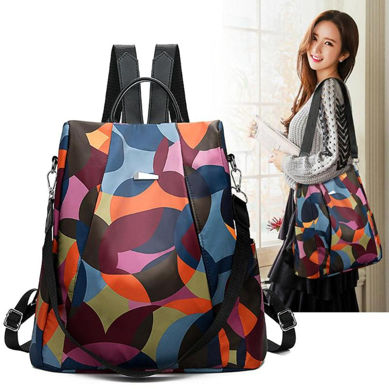 Oxford Backpack Schoolbag Teenagers Fashion Women Casual