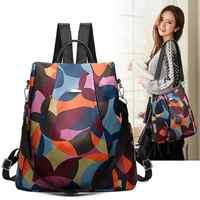 Mode Oxford Rucksack Frauen Anti Diebstahl Rucksack Mädchen Rucksack Schul für Jugendliche Casual Daypack
