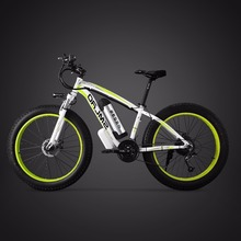 цена на 26inch Electric Bicycle 48v500w Fat E-bike Snow 4.0 Tries Off-road Electric Mountian Bike