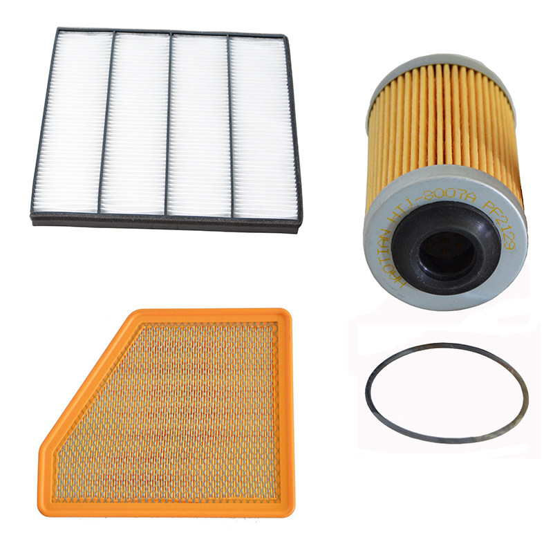 Car Engine Air Filter Cabin Filter Oil Fiter for Chevrolet Camaro 3 6L 2009 2010 2011