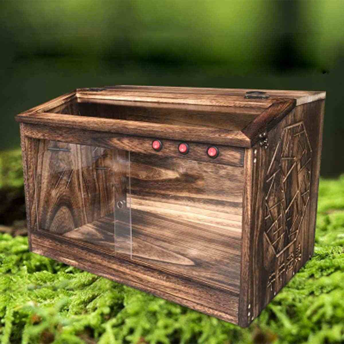 Detail Feedback Questions About Large Wooden Reptiles Terrarium