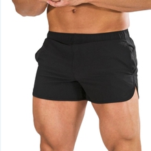 Mens Gym Training Shorts Workout Sports Casual Clothing Fitness Running Athletics Solid