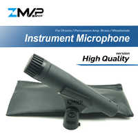 High Quality Version S57H Professional Instrument Dynamic SM57LC Wired Microphone Mic For Drums Percussion Brass Woodwinds Amp