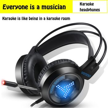 Surround Stereo Gaming Headset Headband Headphone USB 3.5mm  with Mic 7 Colors Breathing Light for Competitive Games Laptop
