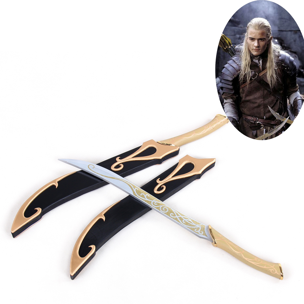 The Lord Of The Rings Legolas Greenleaf Double Daggers Knives Weapon Cosplay Prop At All Costs Costumes & Accessories Costume Props