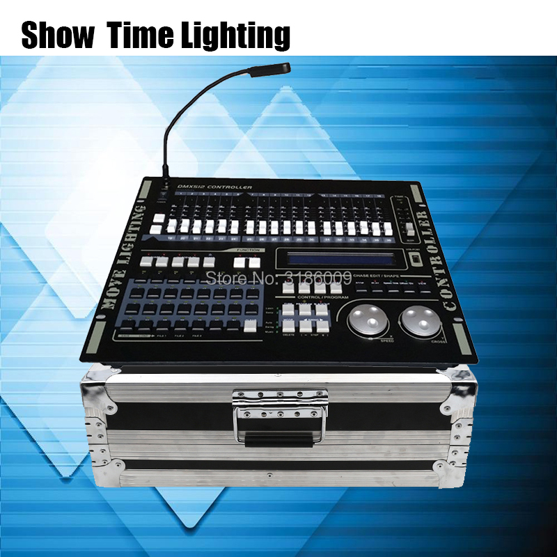 Hot sale Professional 512 DMX Controller flycase Stage light DMX512 Master console flight box use for led par beam moving headHot sale Professional 512 DMX Controller flycase Stage light DMX512 Master console flight box use for led par beam moving head