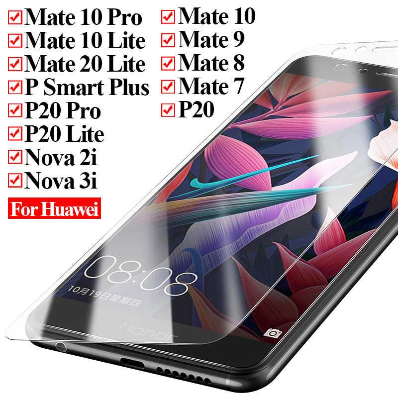 Hartowane szkło ochronne na huawei mate 10 20 lite pro nova 2i 3i 2 i p smart plus 9 8 7 p20 P20 folia ochronna na ekran Lite