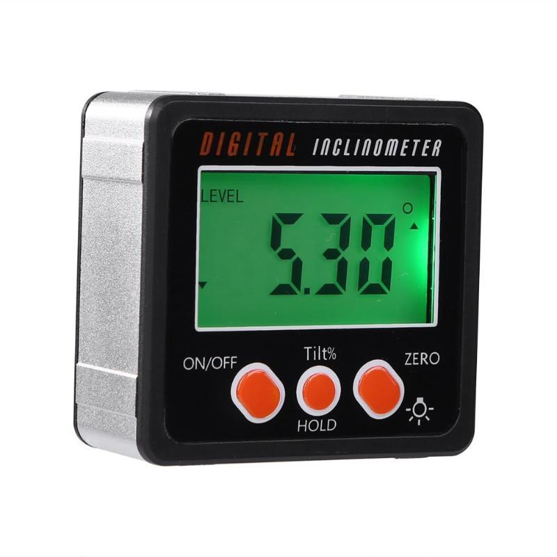 Mini Digital Protractor Inclinometer Level Box Protractor