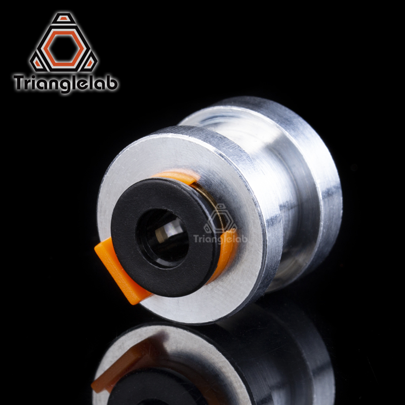 Trianglelab Aluminum Alloy Bowden Extruder 1.75MM Adapter 1.75MM Connector For  TItan Extruder  BMG Extruder Dual Drive Ext