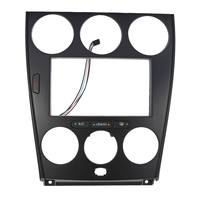 Car audio navigation CD modified surface frame panel box universal machine Refitted For Mazda 6 Double Din Dash Kit Atenza