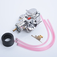 24mm New PWK Cable Choke Carb Carburetor Kit Set for Bike Motorcycle ATV Scooter