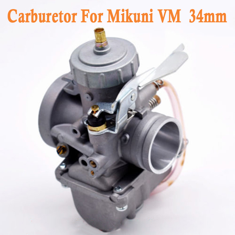 34mm New Carburetor Carb Fits For Mikuni VM Round Slide VM34 168 42 6015 VM34SC Car