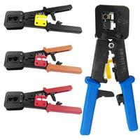 Pro RJ45 Crimper Hand Network Tools Pliers RJ12 Cat5 Cat6 8P8C Cable Stripper Pressing Clamp Tongs Clip