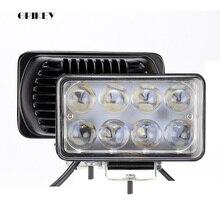 4 Inch 24W LED Work Light Square Spot Flood LED Car Lamp for Off Road Vehicle Motorcycle Truck 12V 24V