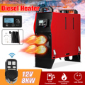 8 кВт 12 В интегрированный 1/4 отверстия воздуха Дизели воздуха стояночный нагреватель ЖК-экран переключатель автомобильный нагреватель с пу...
