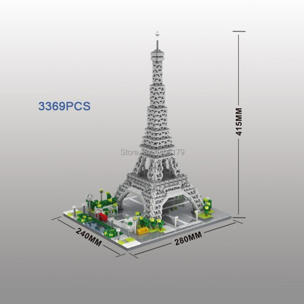 Лидер продаж строительные блоки с изображением известного города