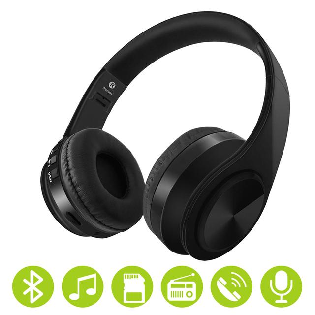 Bluetooth Wireless Headphone 3.5mm Jack Gaming Headset