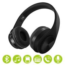 Wireless Headphones Bluetooth Earphone Sport Headset 3.5mm Jack Gaming Headset W