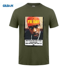 GILDAN Chris Tucker T shirt, Ice Cube, Friday, Weed, California, Movie, New, LA, NY Cool Funny T Shirt Men High Quality Tees