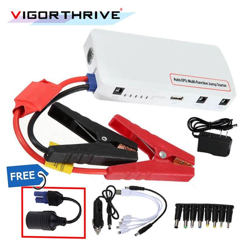 Chargeur de batterie de voiture multi-usages démarrage de voiture capacité de démarrage batterie externe recharge mobile pour voiture chargeur d'urgence ordinateur portable