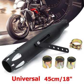 2.5 Auspuffspitzen | Universal Motorrad Auspuff Rohr Auspuff Tip Tail Rohr Schalldämpfer Für Harley Bobber Kunden