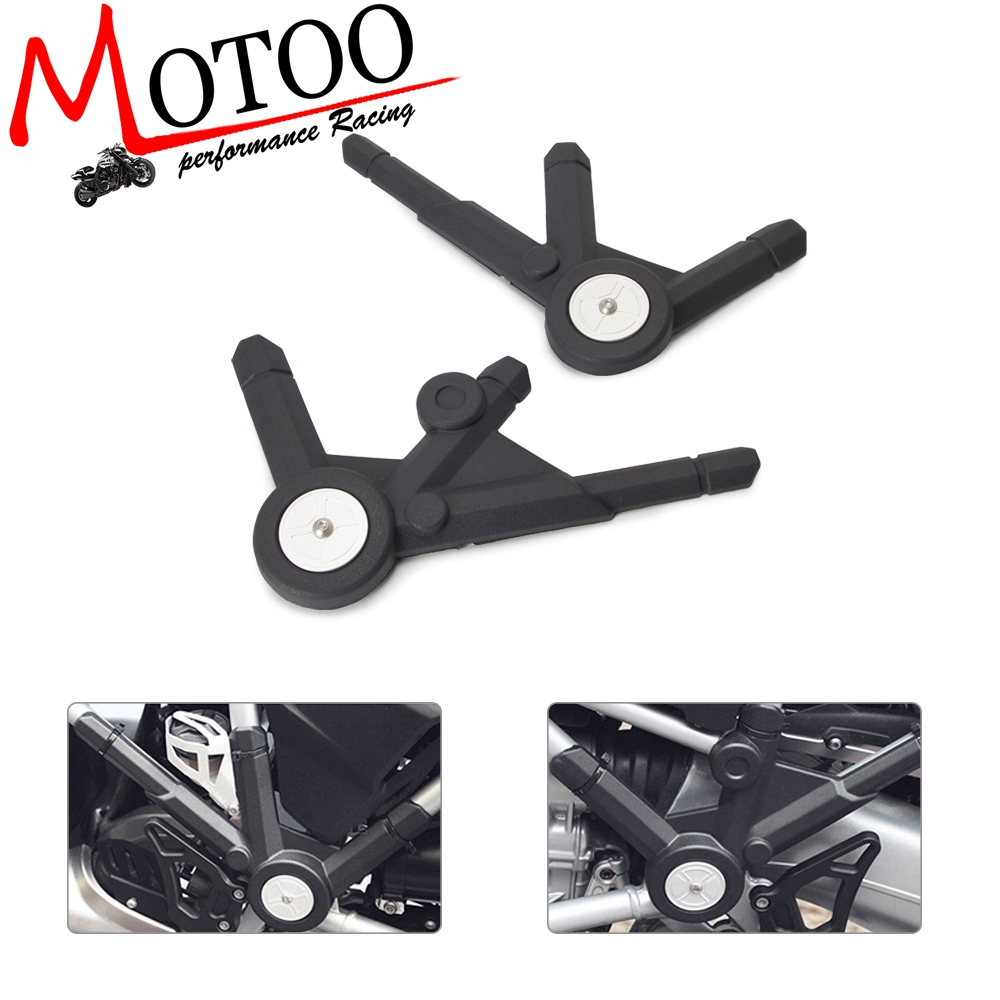 Motorcycle Frame Panel Guard Protector Left & Right Side Cover For BMW  LC R 1200 GS LC/ R1200GS LC Adventure R1200GS 2013-2017