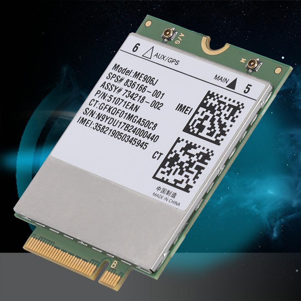 Ehrlich Fdd 4g Lte Modul Modell Me906j Drahtlose Modul Karte Für Laptop Tablet Ngff/m.2 Für Wcdma 3g-modems Networking