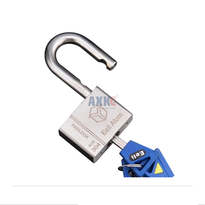 Fechadura Digital Door Lock 304 Stainless Steel Padlock Anti-liquid And Anti-mite Extra Large Anti-theft Warehouse 40mm Square