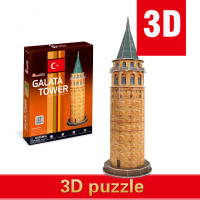New Happy Cube 3d Puzzle Creative Toys Istanbul Add Latata Model Manual Assembly DIY Christmas Gifts Children Toys Free Shipping