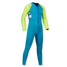 Long Sleeve Bathing Suit UV Protective Clothing Wetsuit A 2mm Snorkel For Childrens